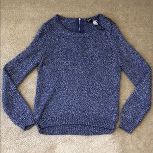 H&M Sparkling Purple Sweater 4